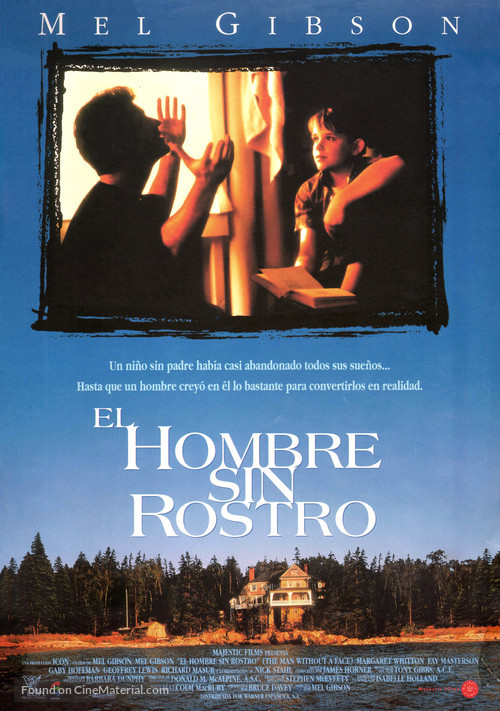 The Man Without a Face - Spanish Movie Poster