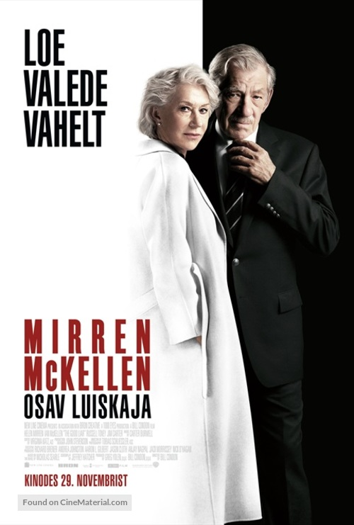 The Good Liar - Estonian Movie Poster