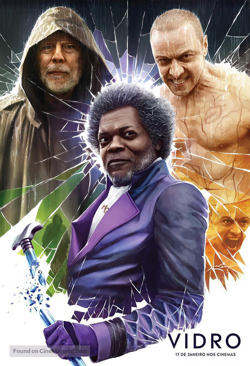 Glass - Brazilian Movie Poster