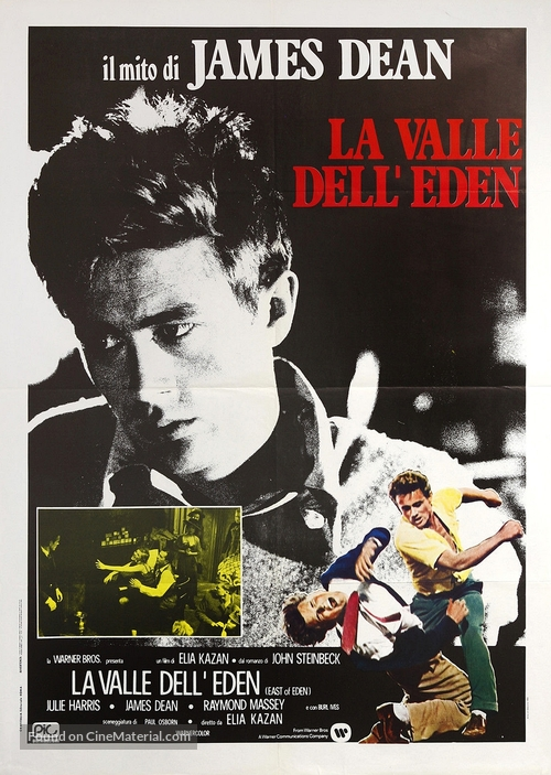 East of Eden - Italian Movie Poster