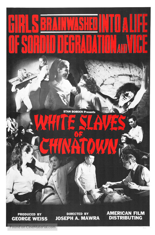 White Slaves of Chinatown - Movie Poster