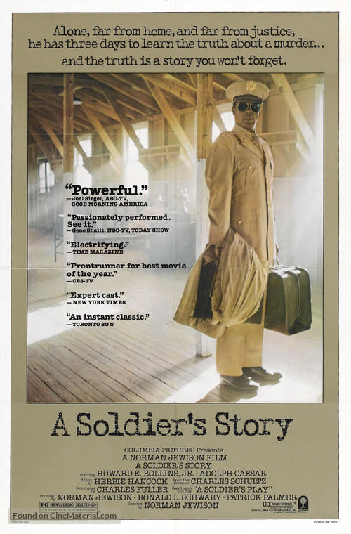 A Soldier's Story - Movie Poster