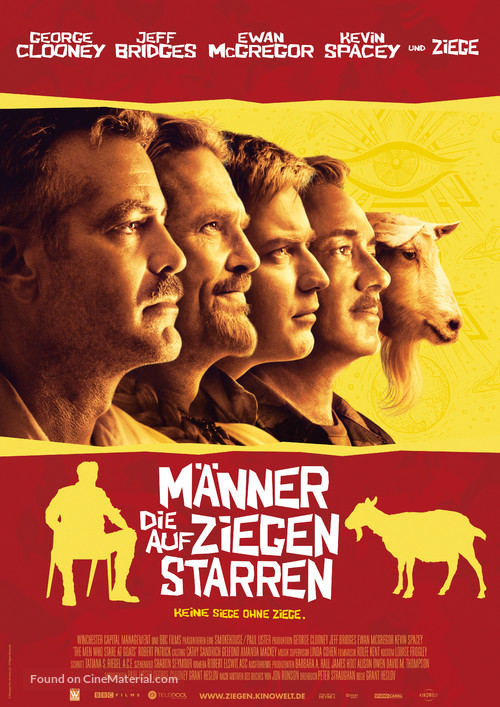 The Men Who Stare at Goats - German Movie Poster