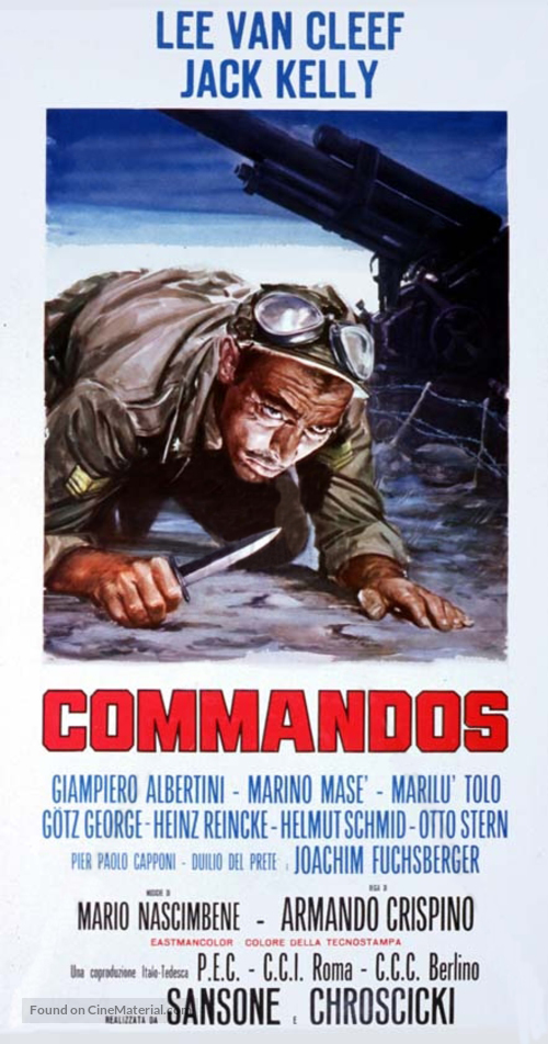 Commandos - Italian Movie Poster