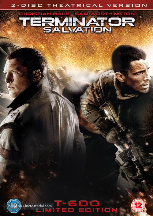Terminator Salvation - British Movie Cover