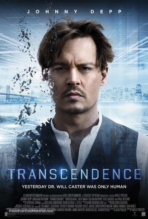 Transcendence - Danish Movie Poster