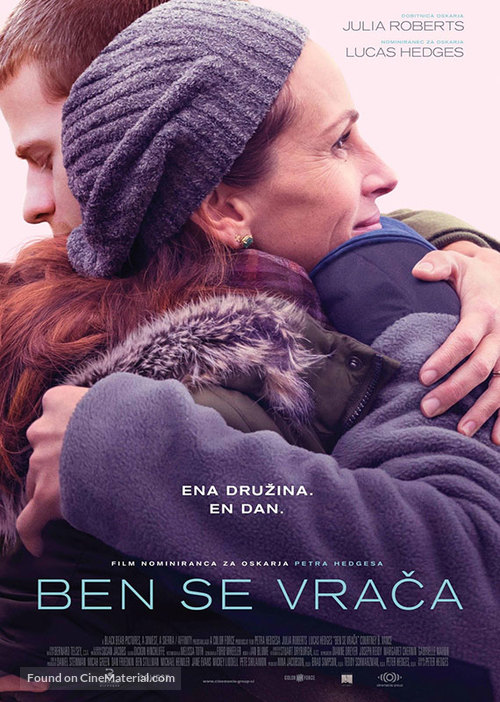 Ben Is Back - Slovenian Movie Poster