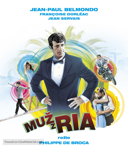 L'homme de Rio - Czech Movie Cover