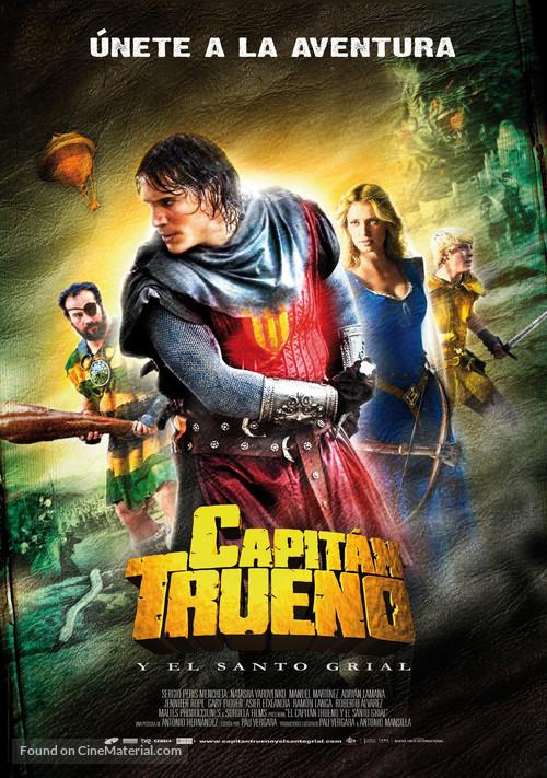 Capitán Trueno y el Santo Grial - Spanish Movie Poster