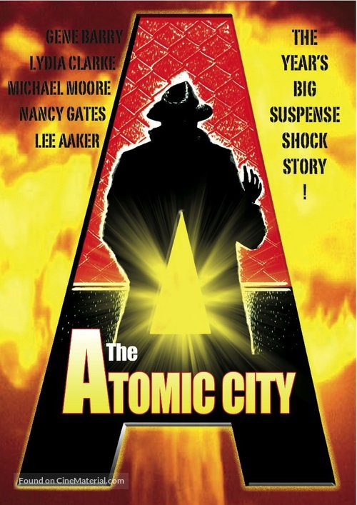 The Atomic City - DVD cover