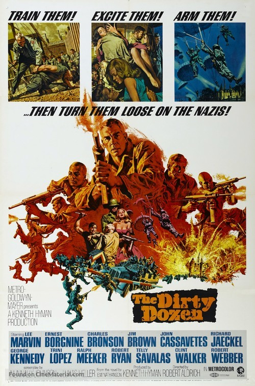 The Dirty Dozen - Movie Poster