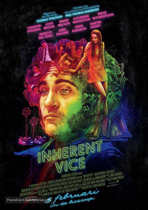 Inherent Vice - Dutch Movie Poster