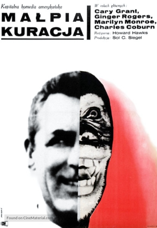Monkey Business - Polish Movie Poster