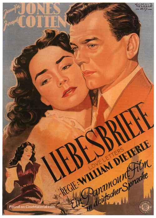 Love Letters - German Movie Poster