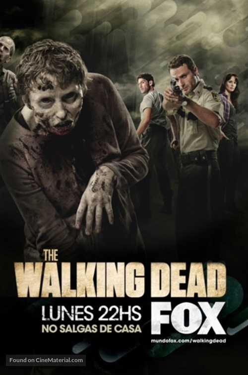 """The Walking Dead"" - Spanish Movie Poster"