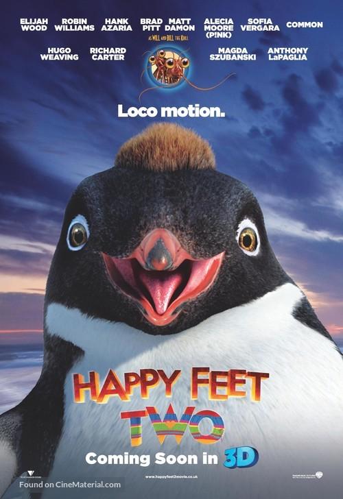 Happy Feet Two - British Movie Poster