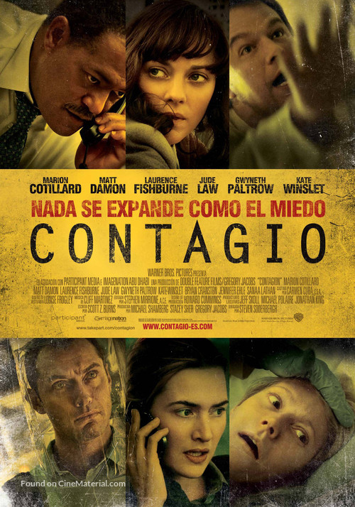 Contagion - Spanish Movie Poster