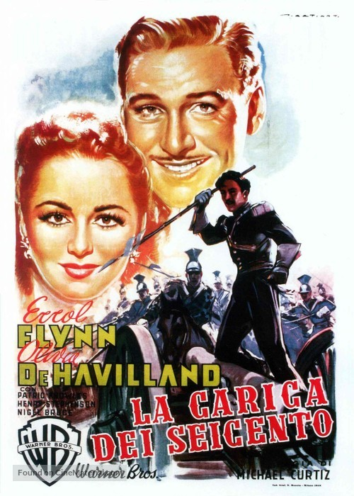 The Charge of the Light Brigade - Italian Movie Poster