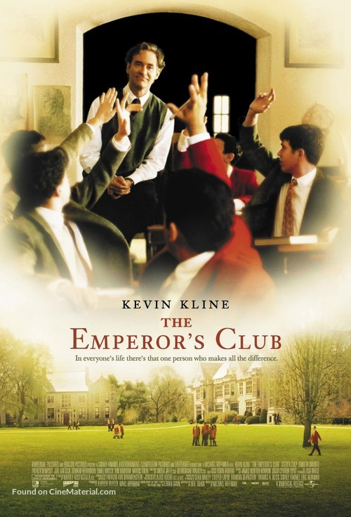 The Emperor's Club - Movie Poster