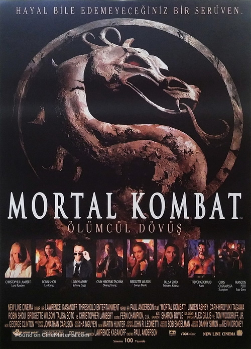 Mortal Kombat - Turkish Movie Poster