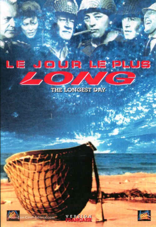 The Longest Day Canadian dvd cover