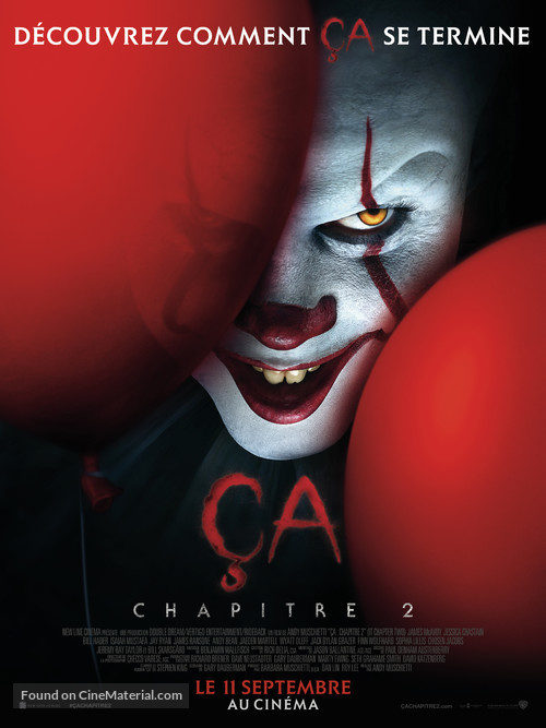 It: Chapter Two - French Movie Poster