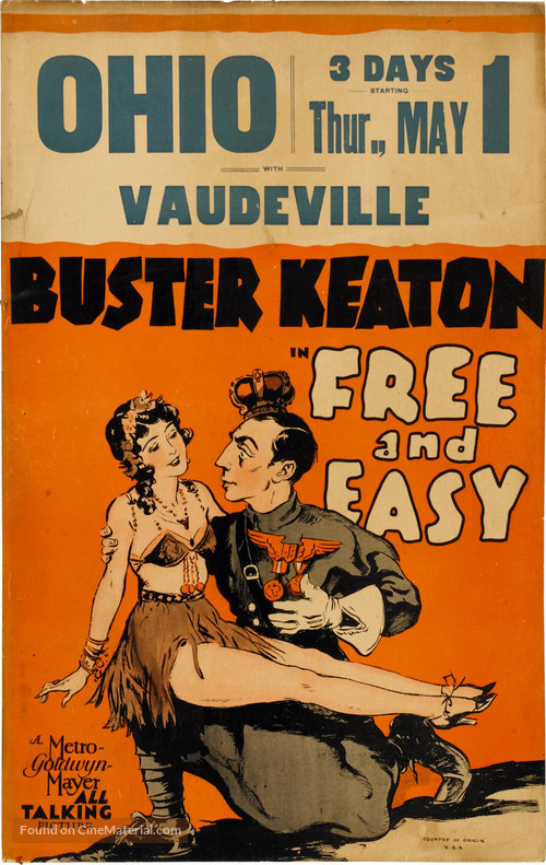 Free and Easy - Theatrical movie poster