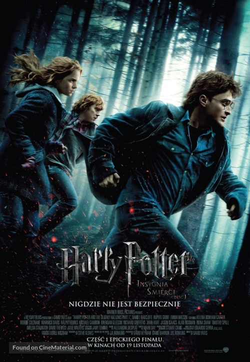 Harry Potter and the Deathly Hallows: Part I - Polish Movie Poster