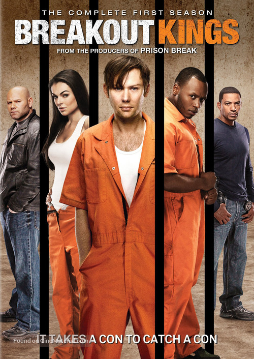 """""""Breakout Kings"""" - DVD movie cover"""