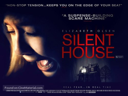 Silent House - British Movie Poster