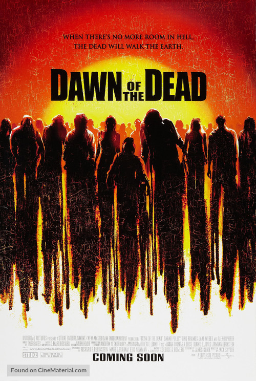 Dawn Of The Dead - Movie Poster