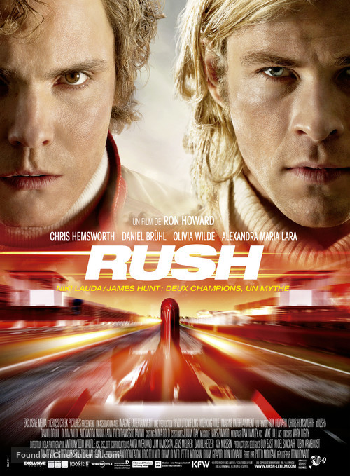 Rush - French Movie Poster