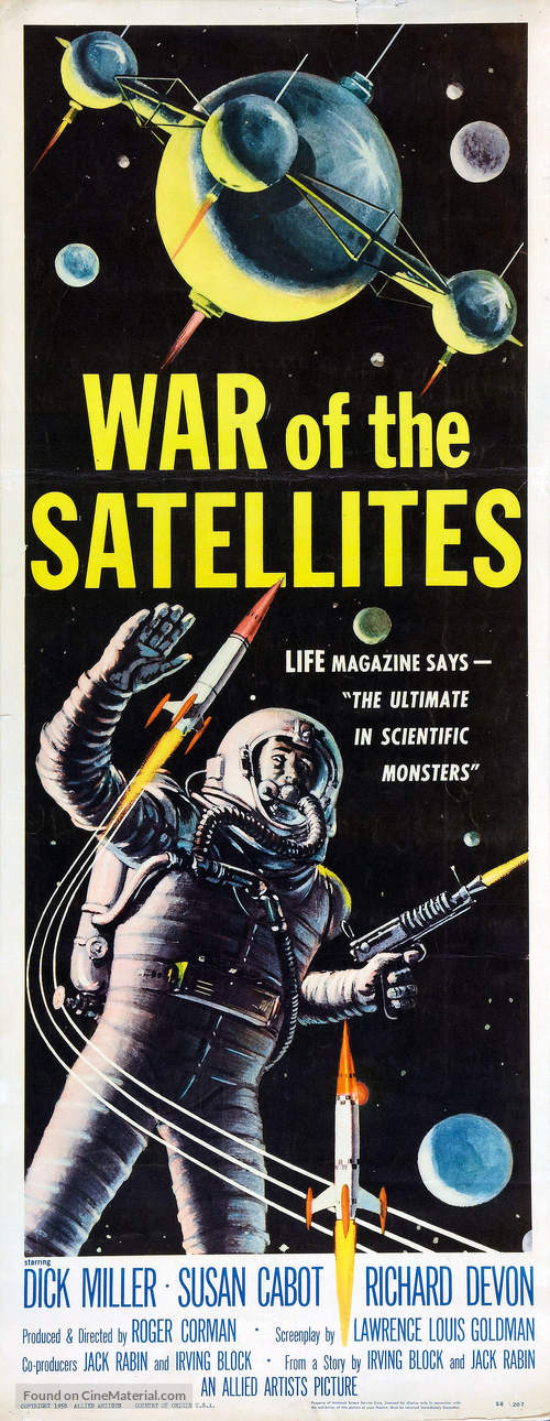 War of the Satellites - Movie Poster
