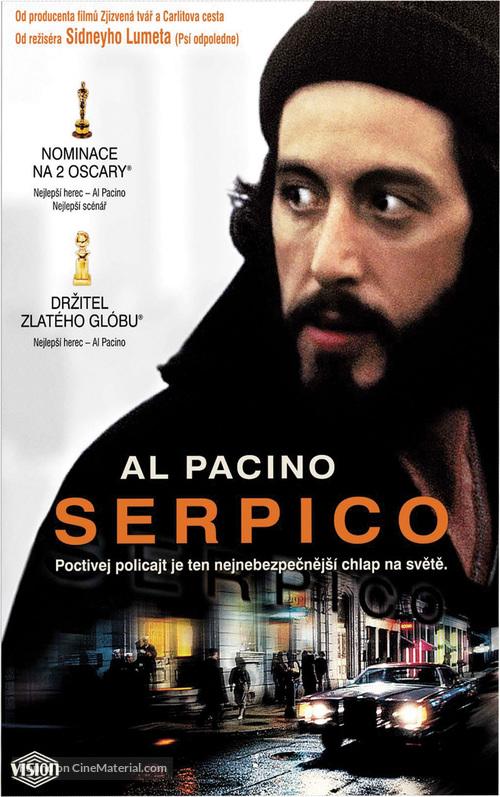 Serpico - Slovak VHS movie cover