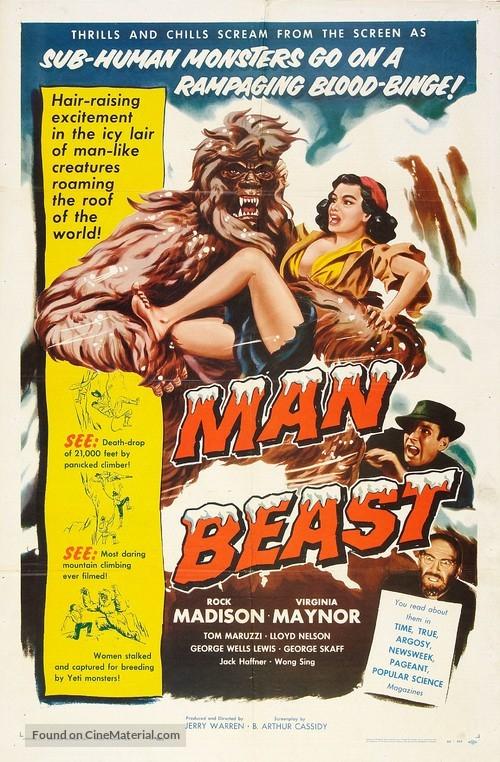 Man Beast - Movie Poster