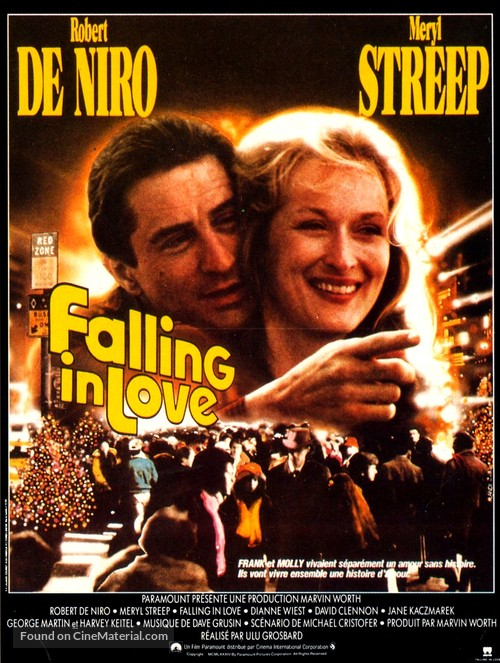 Falling in Love - French Movie Poster