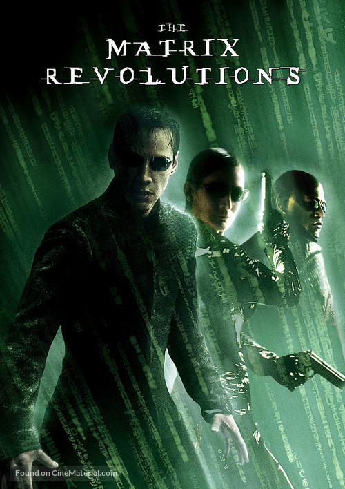 The Matrix Revolutions - German DVD cover