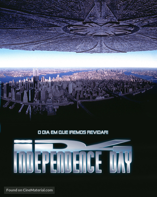 Independence Day - Brazilian Movie Poster