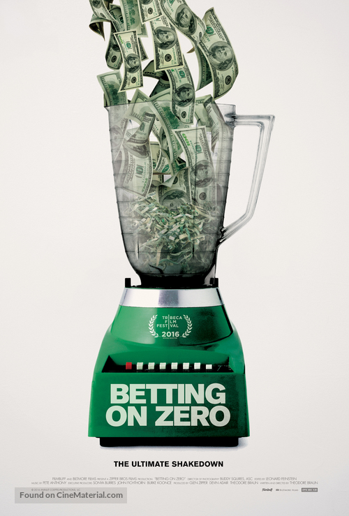 Betting on Zero - Movie Poster