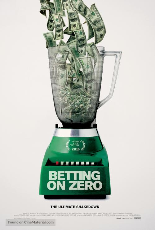 Betting on Zero - Movie Poster