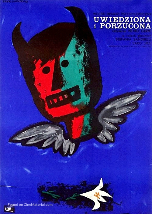 Sedotta e abbandonata - Polish Movie Poster