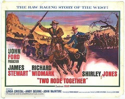 Two Rode Together - Movie Poster