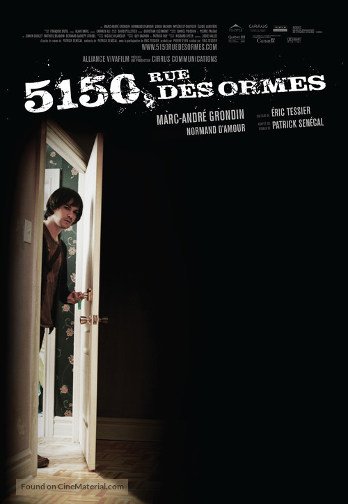 5150, Rue des Ormes - Canadian Movie Poster
