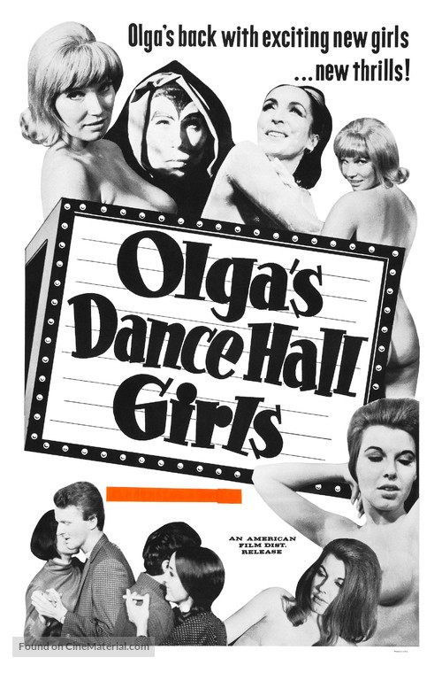 Olga's Dance Hall Girls - Movie Poster