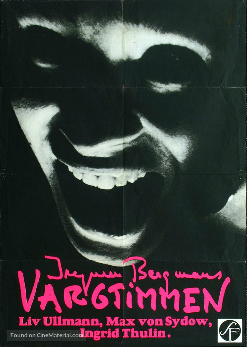Vargtimmen - Swedish Movie Poster
