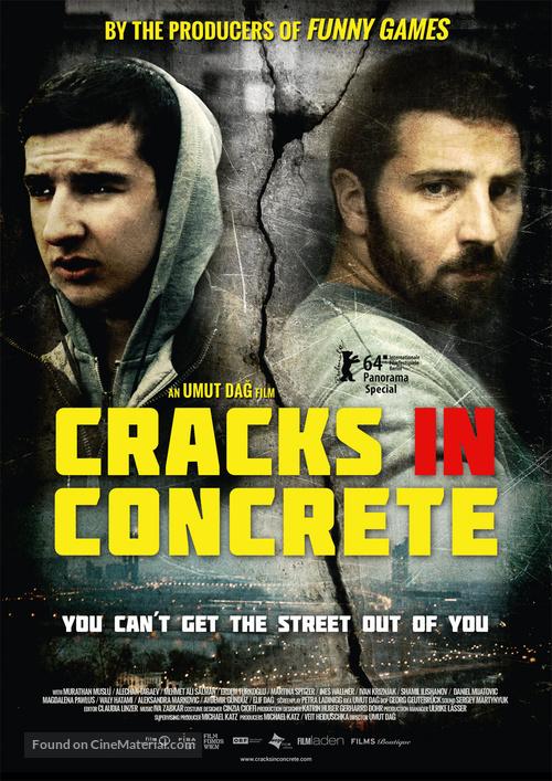 Risse im Beton - Austrian Movie Poster