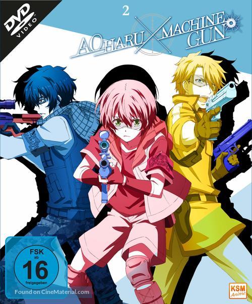 """Aoharu X Machinegun"" - German DVD cover"