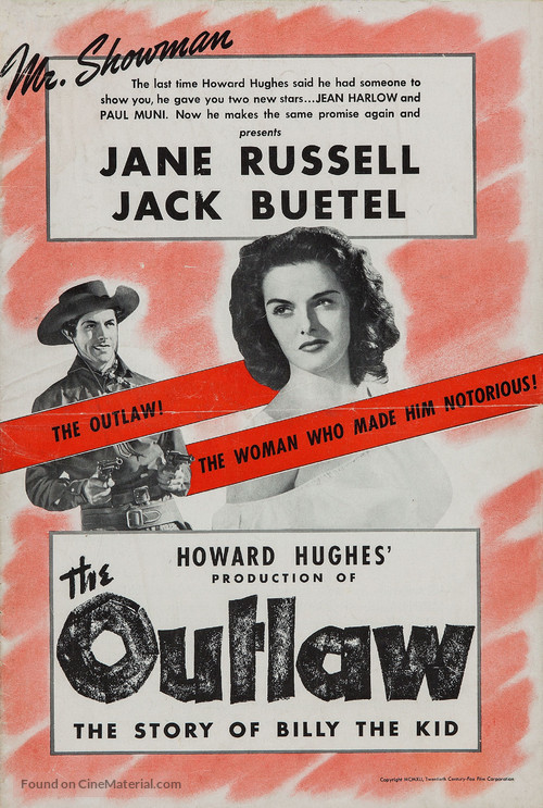 The Outlaw - poster
