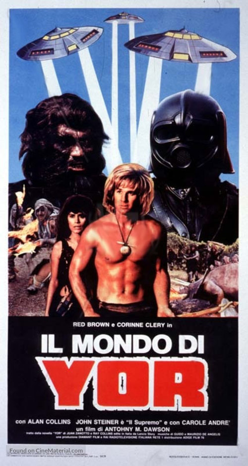 Il mondo di Yor - Italian Movie Poster