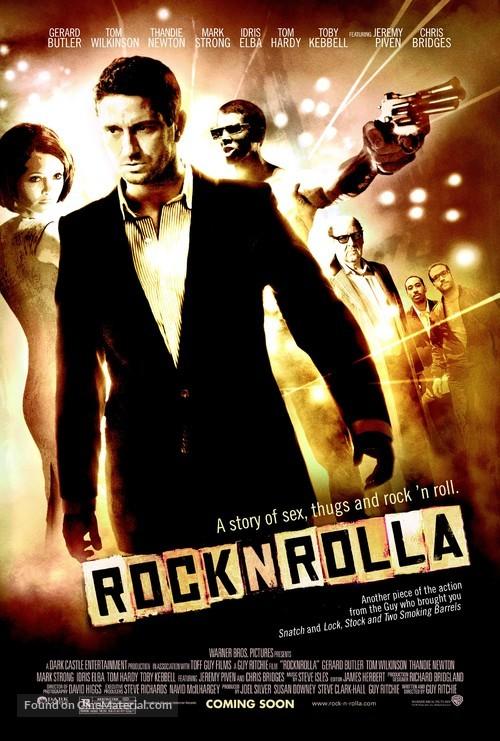 RocknRolla - Movie Poster
